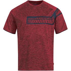 VAUDE Moab V Camiseta Hombre, carmine